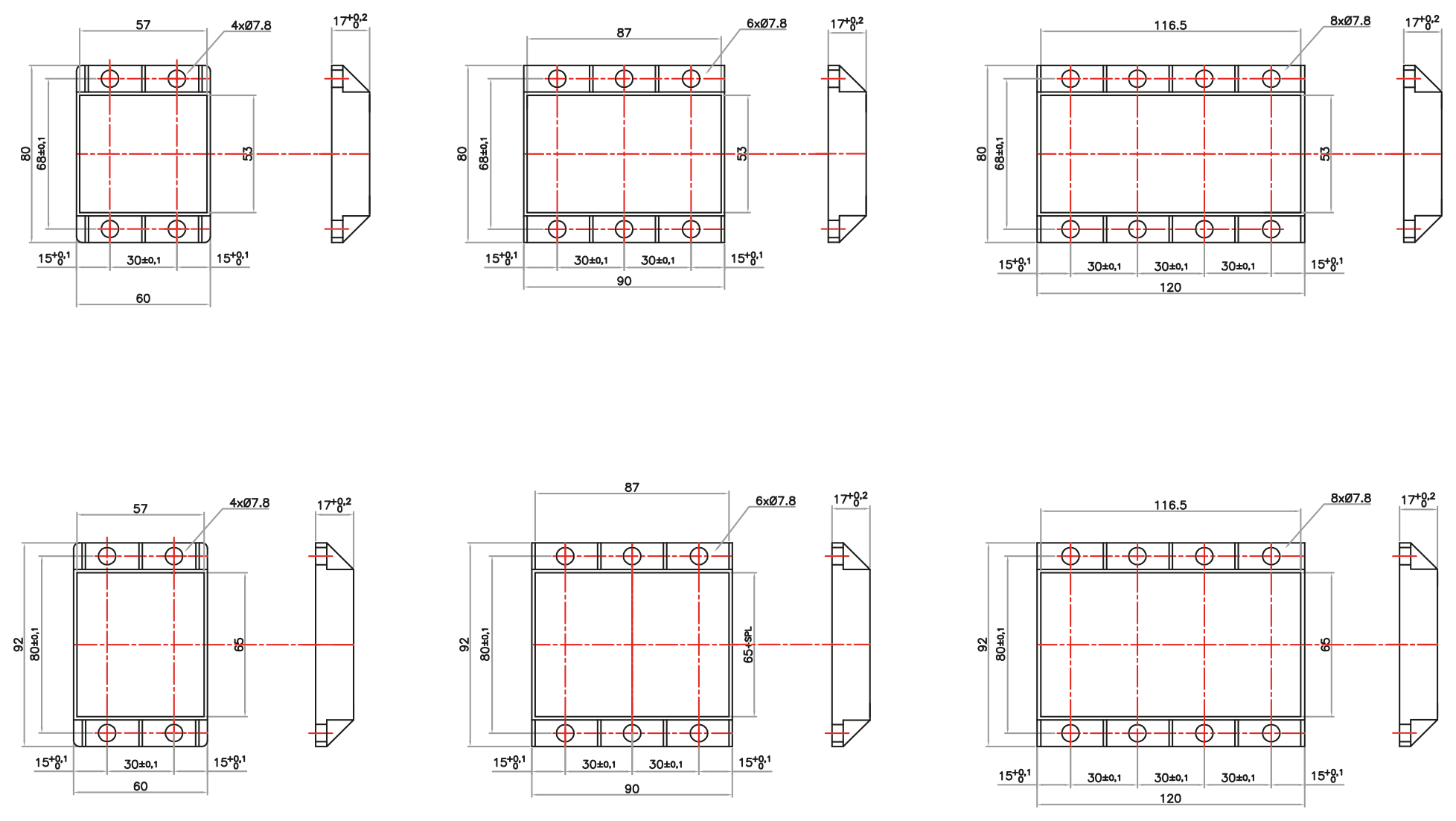 Custom modules circuit and components by customer specs